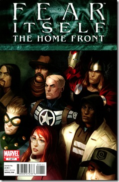 Fear Itself - The Homefront #1 Cover